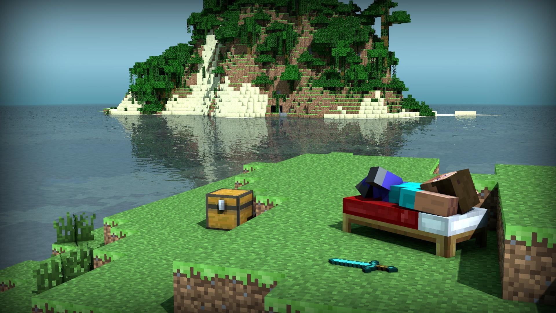 《Minecraft》創作者的《Minecraft》……