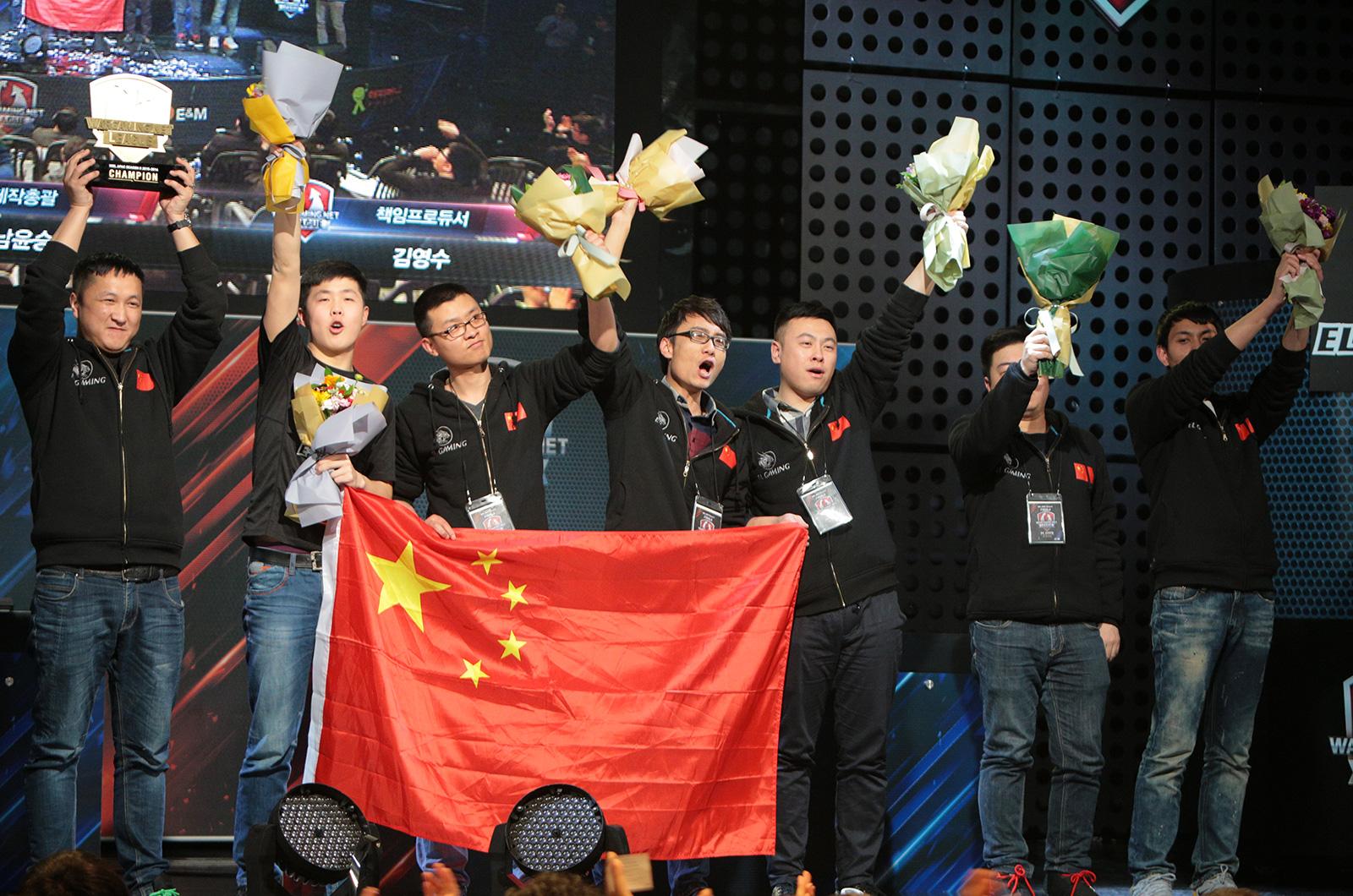 EL Gaming taking Champions