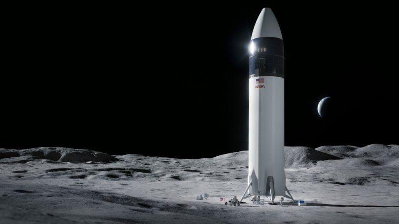 馬斯克的 Space X 擊敗貝佐斯的藍月計畫國家隊