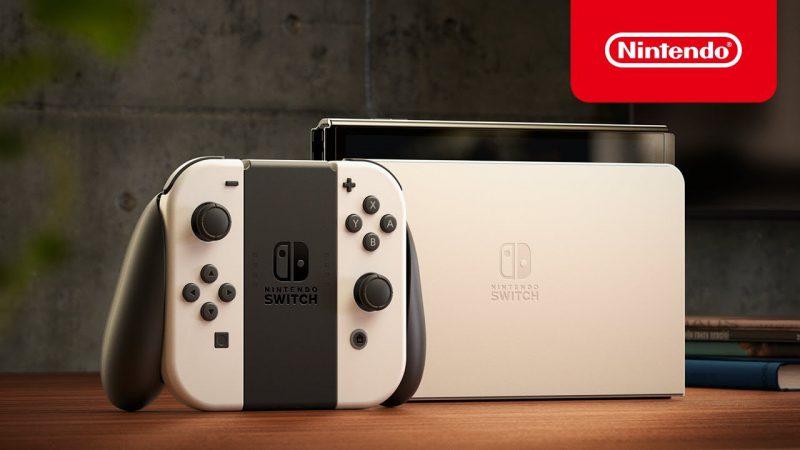 任天堂發表新款 Switch 主機,搭載七吋 OLED 螢幕
